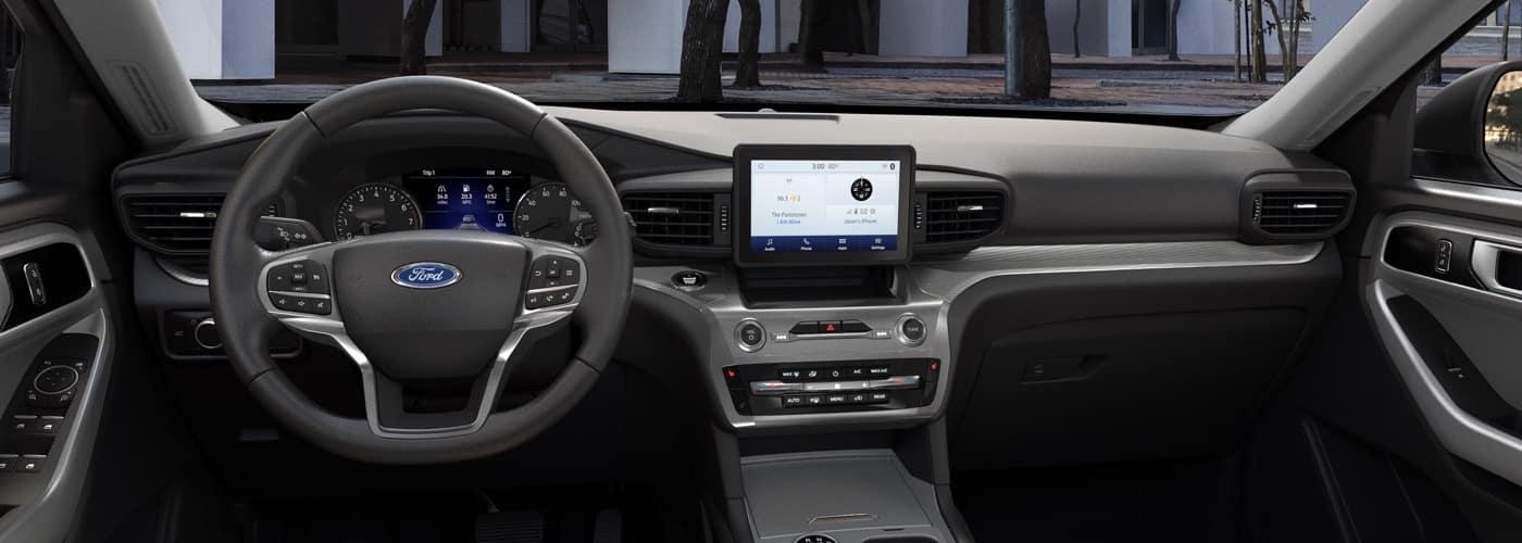 2021 Ford Explorer interior dashboard
