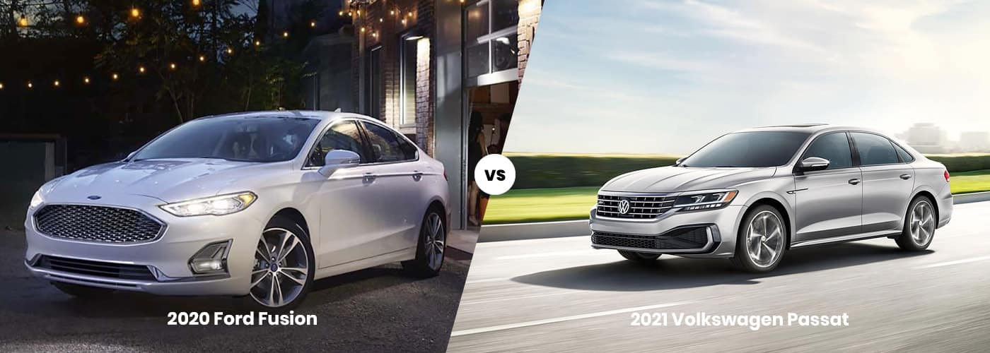 2020 Ford Fusion vs 2021 Volkswagen Passat Comparison