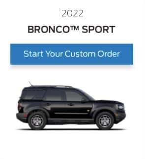 bronco sport