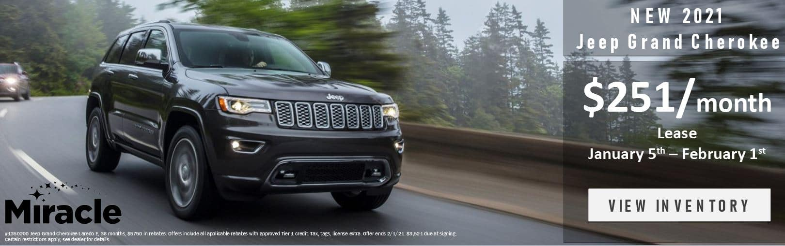 Jeep Grand Cherokee Lease Offer