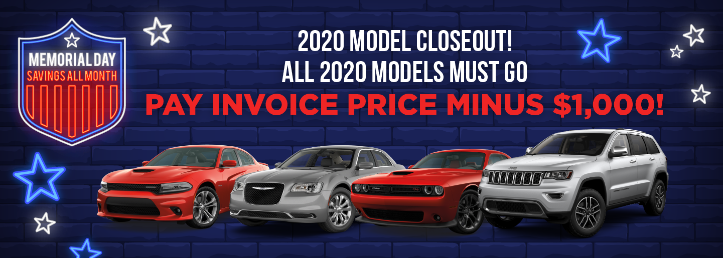 2020 Model Close Out