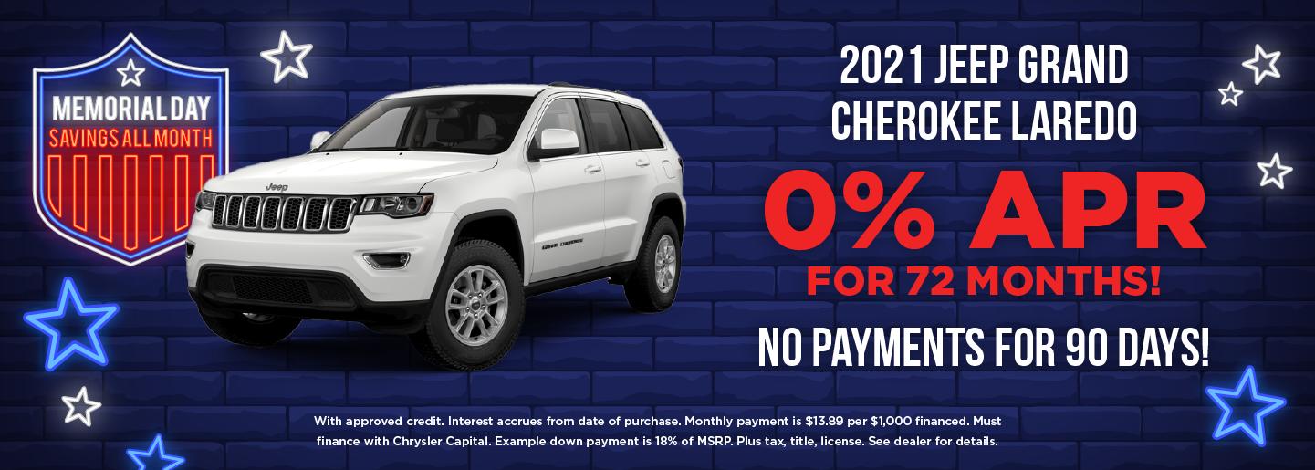 2021 Jeep Grand Cherokee Laredo