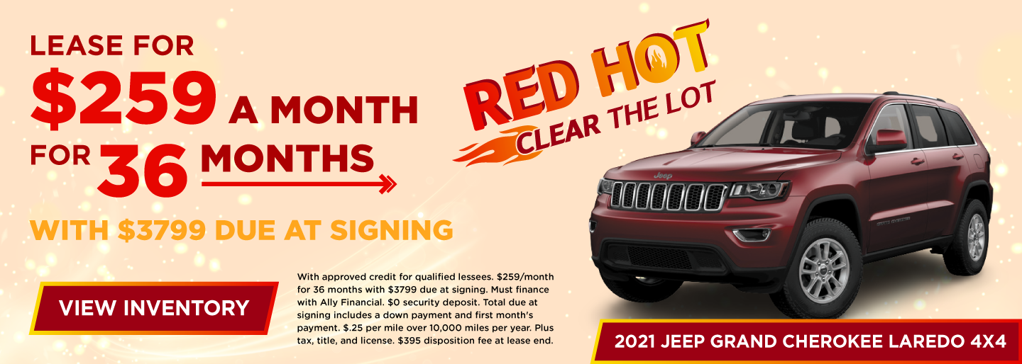 Lease for $259 a month for 36 months