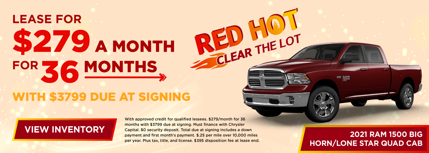 Lease for $279 a month for 36 months