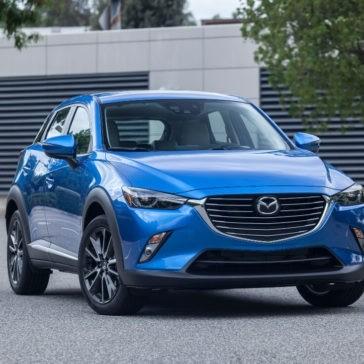 2017 Mazda CX-3 in Dynamic Blue