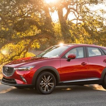 2017 Mazda CX-3 in Soul Red