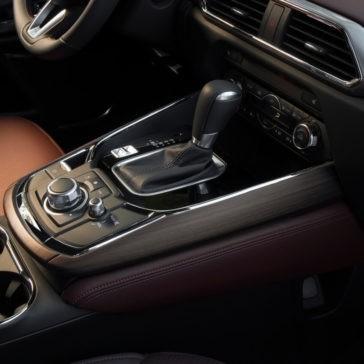 2017 Mazda CX-9 console