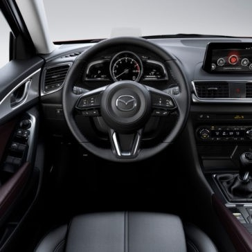 2017 Mazda3 interior cabin