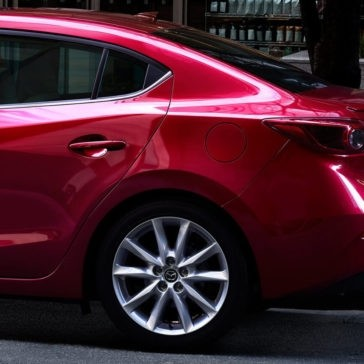 2017 Mazda3 rear profile