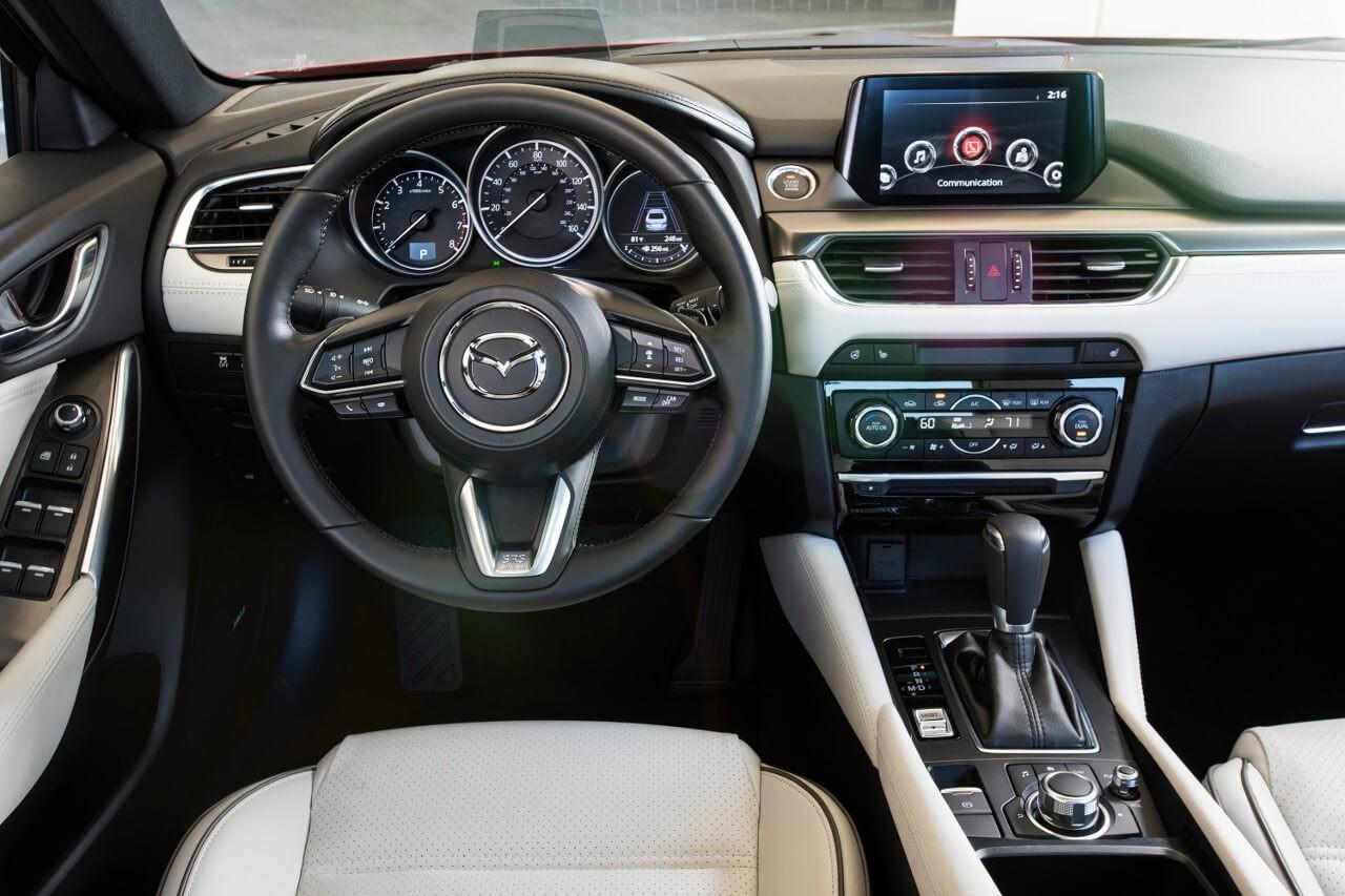 2017 Mazda6 dashboard