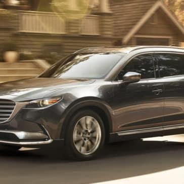 2018 Mazda CX-9 driving