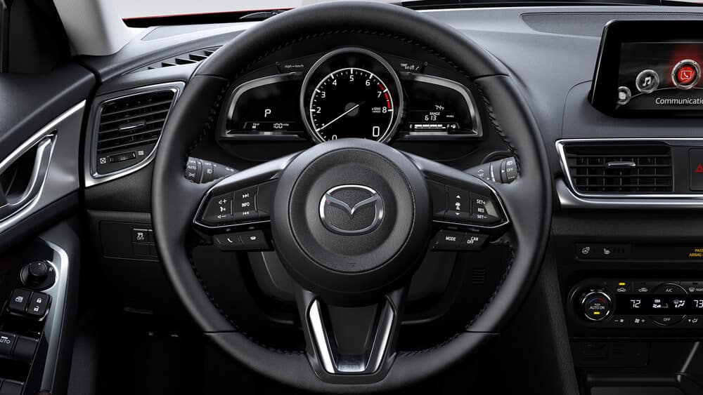 2018 Mazda3 Hatchback Steering Wheel Features