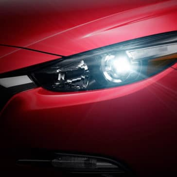 2018 Mazda3 Hatchback Headlight