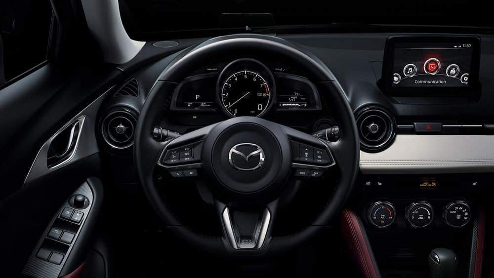 2018 Mazda CX-3 Interior Steering Wheel Features