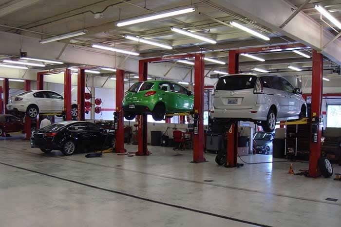 Momentum Mazda Service Bays