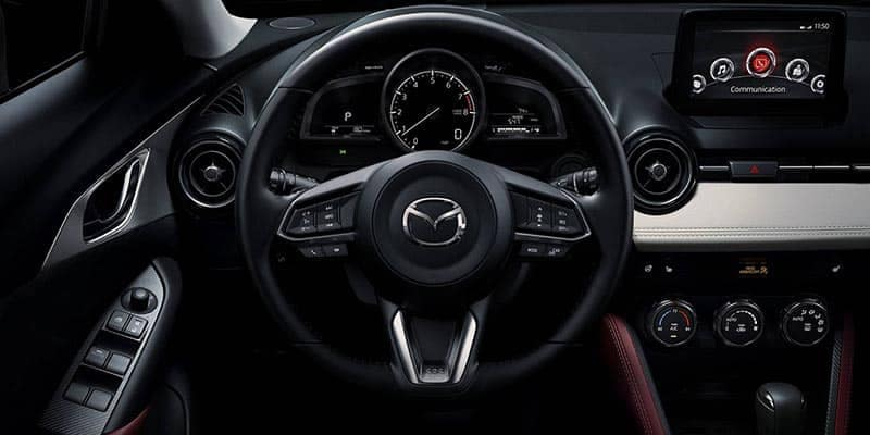 2018 Mazda CX-3 Steering Wheel and Dashboard