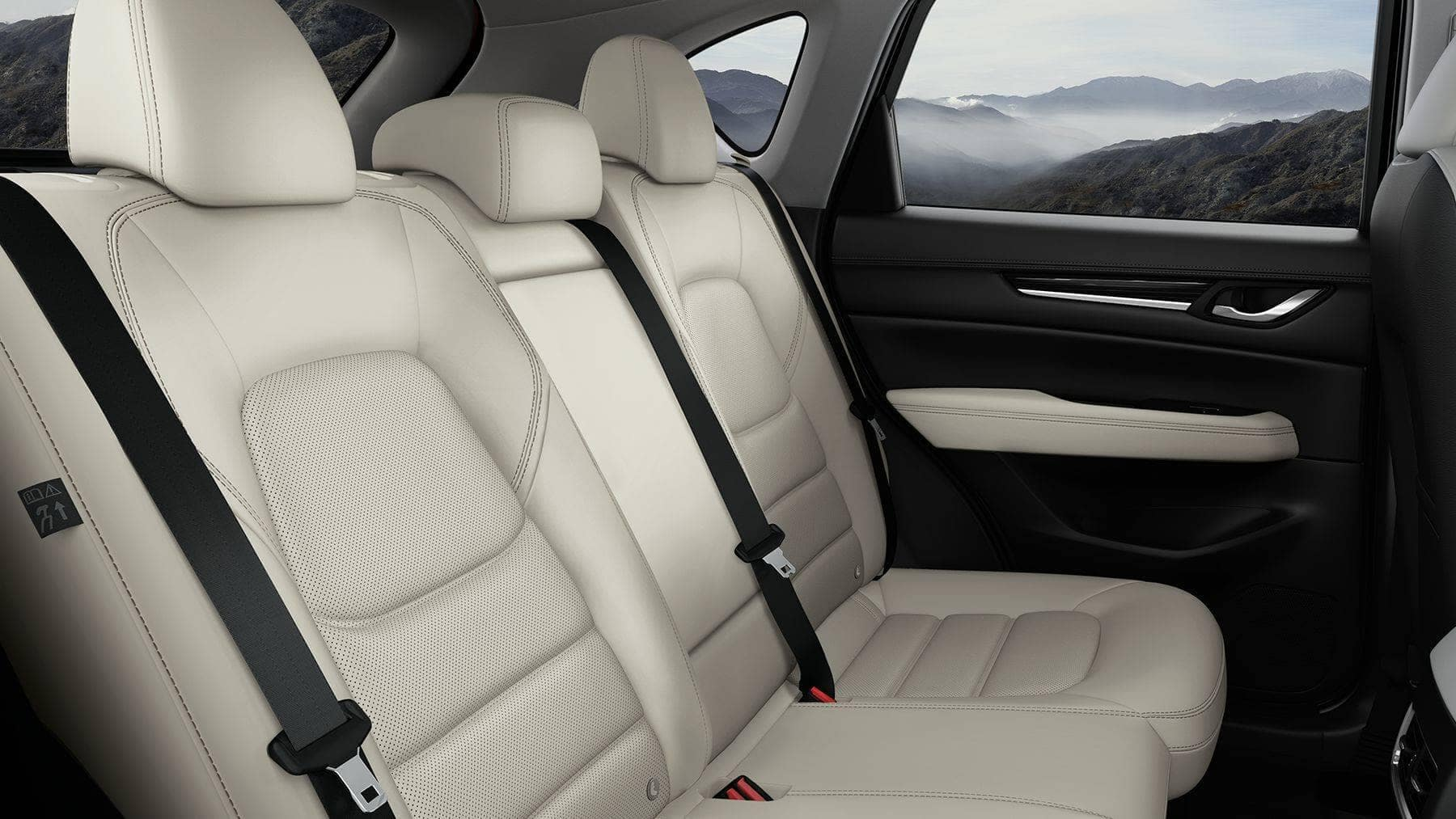 2018 Mazda CX-5 Interior Rear Seats