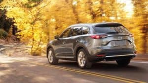 2018 Mazda CX-9 AWD Driving Through Wooded Roads