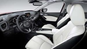 2018 Mazda3 5-Door Interior Seating and Features