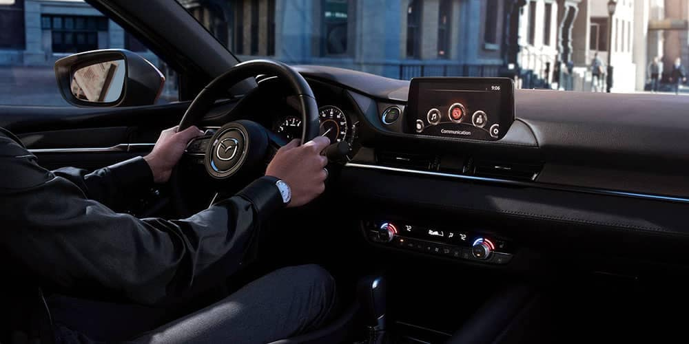 2018 Mazda6 Interior Technology Features
