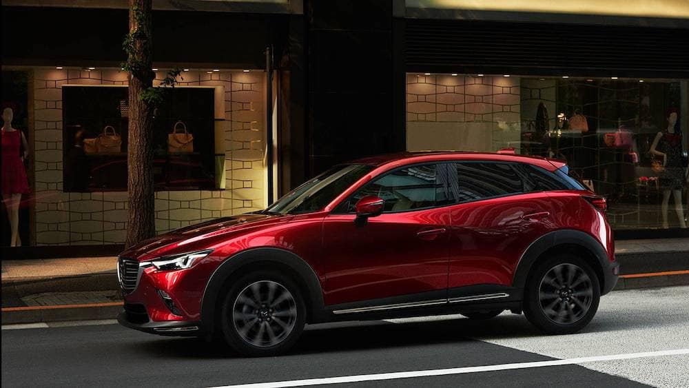 2019 Mazda CX-3 in red