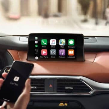 2019 Mazda CX-9 Apple Carplay connectivity