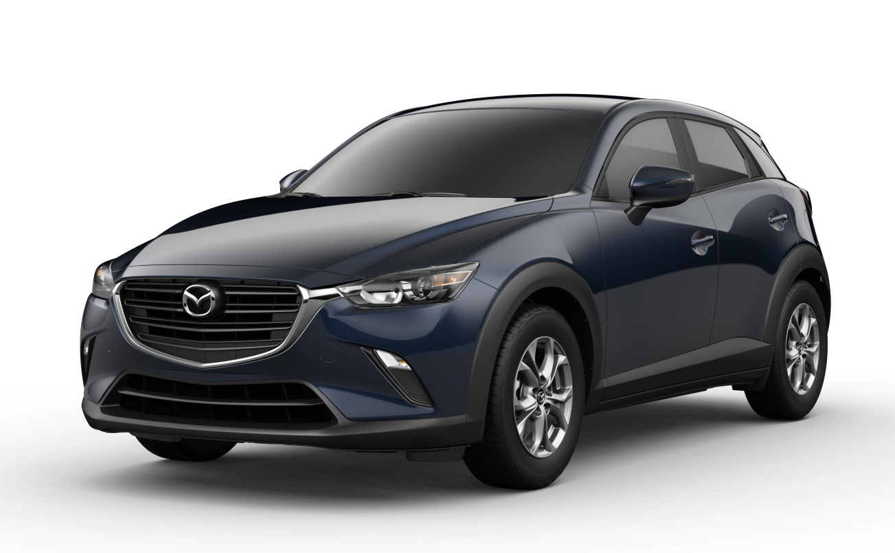 2019 Mazda CX-3 Dark Blue