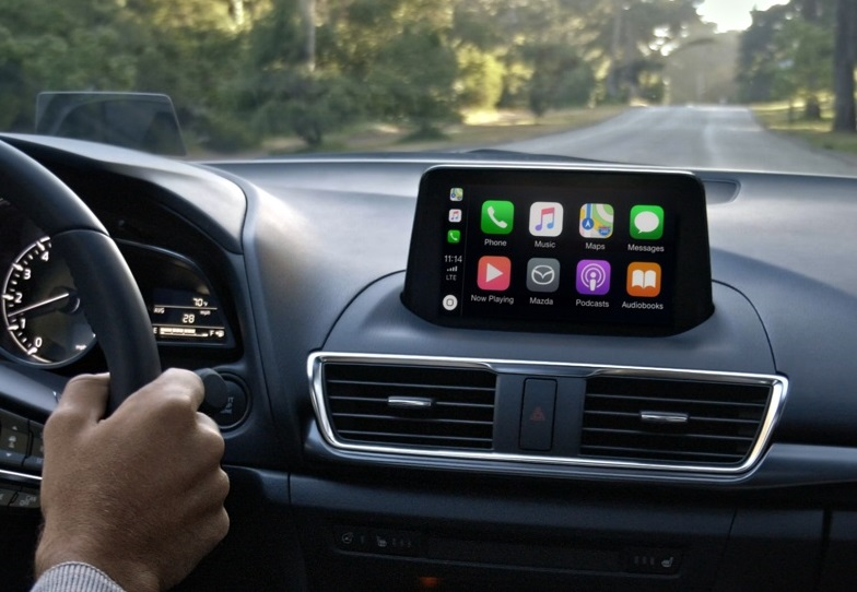 Mazda3 Apple CarPlay™ Technology