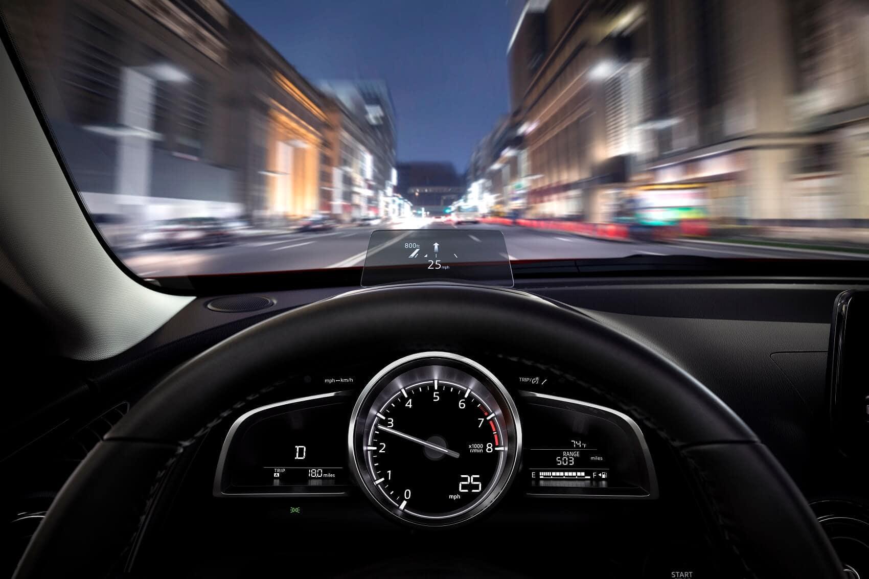 Mazda CX-3 City Driving