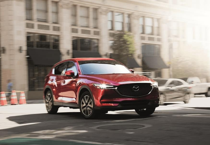 Mazda CX-5 Driving
