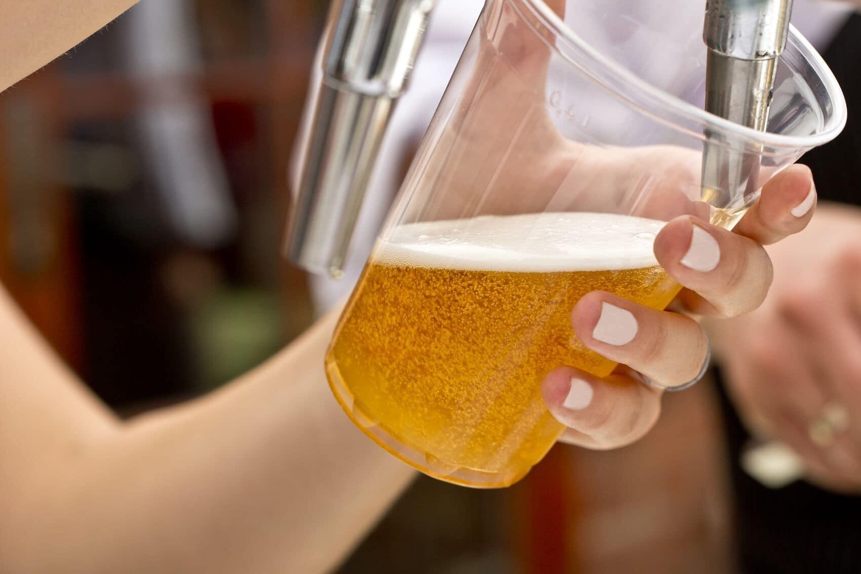 Filling Up Beer