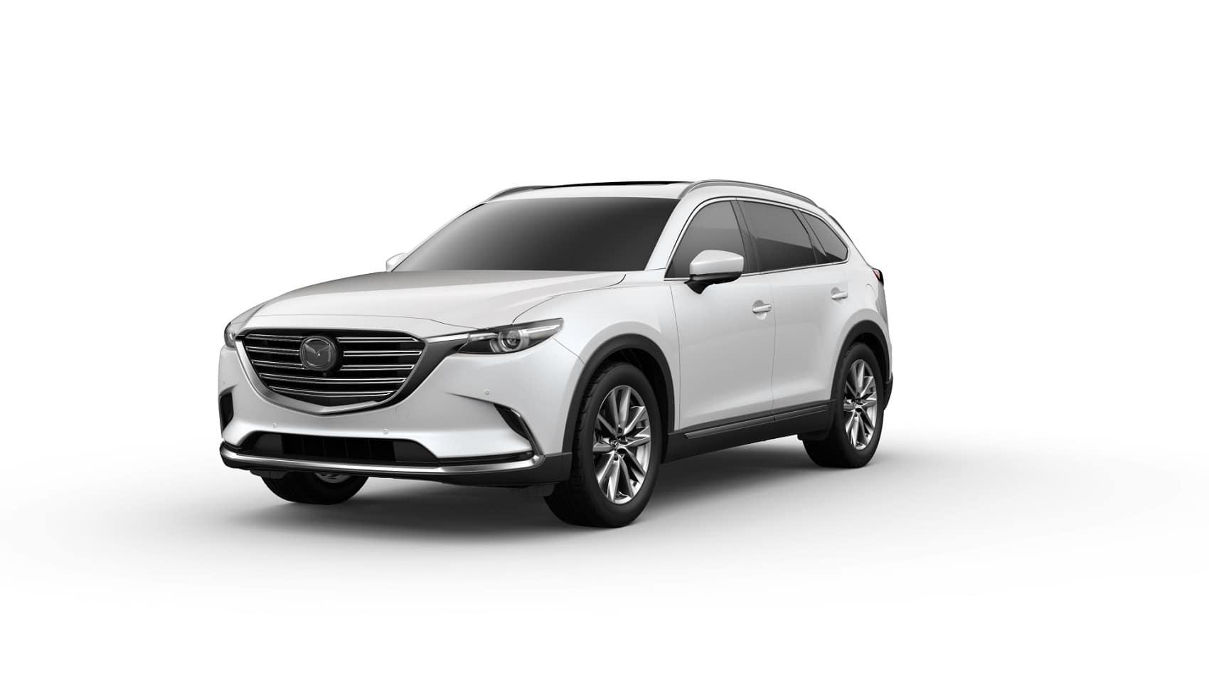 2020 Mazda CX-9 GT Snowflake White Pearl