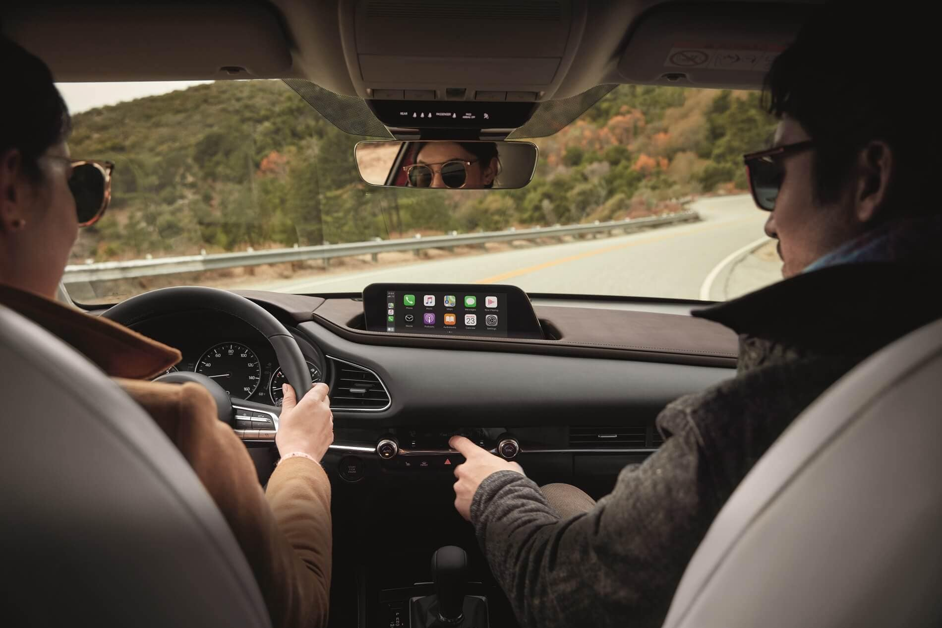 2020 Mazda CX-30 Interior With Apple CarPlay™ integration