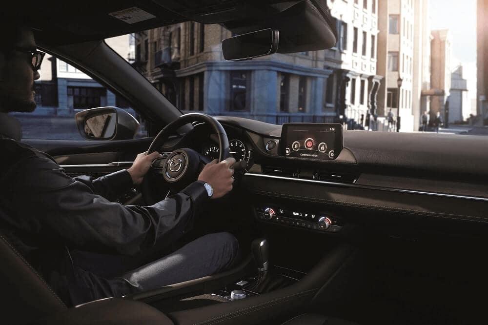 Driving a Mazda6