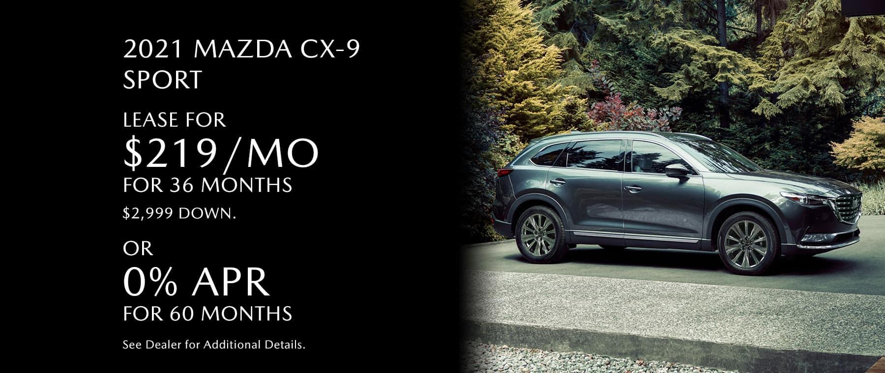 MazdaGastonia_Sliders_CX-9 Sport (1)April