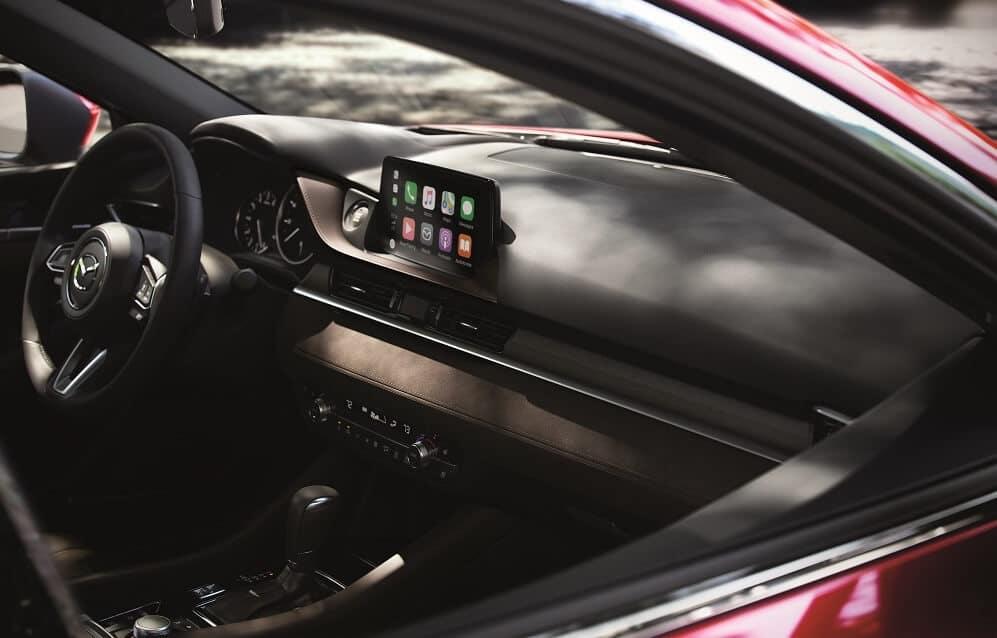 Mazda6 Interior with Apple CarPlay™ integration