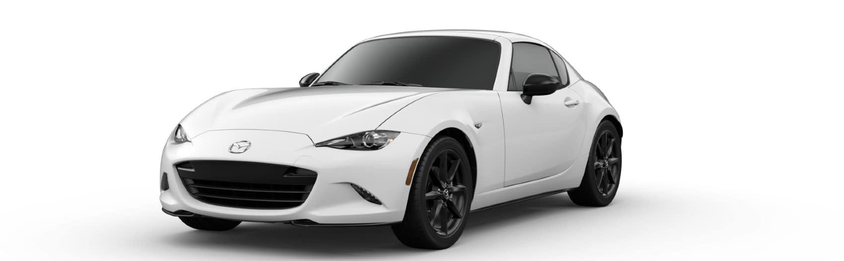 2021 Mazda MX5-RF Arctic White