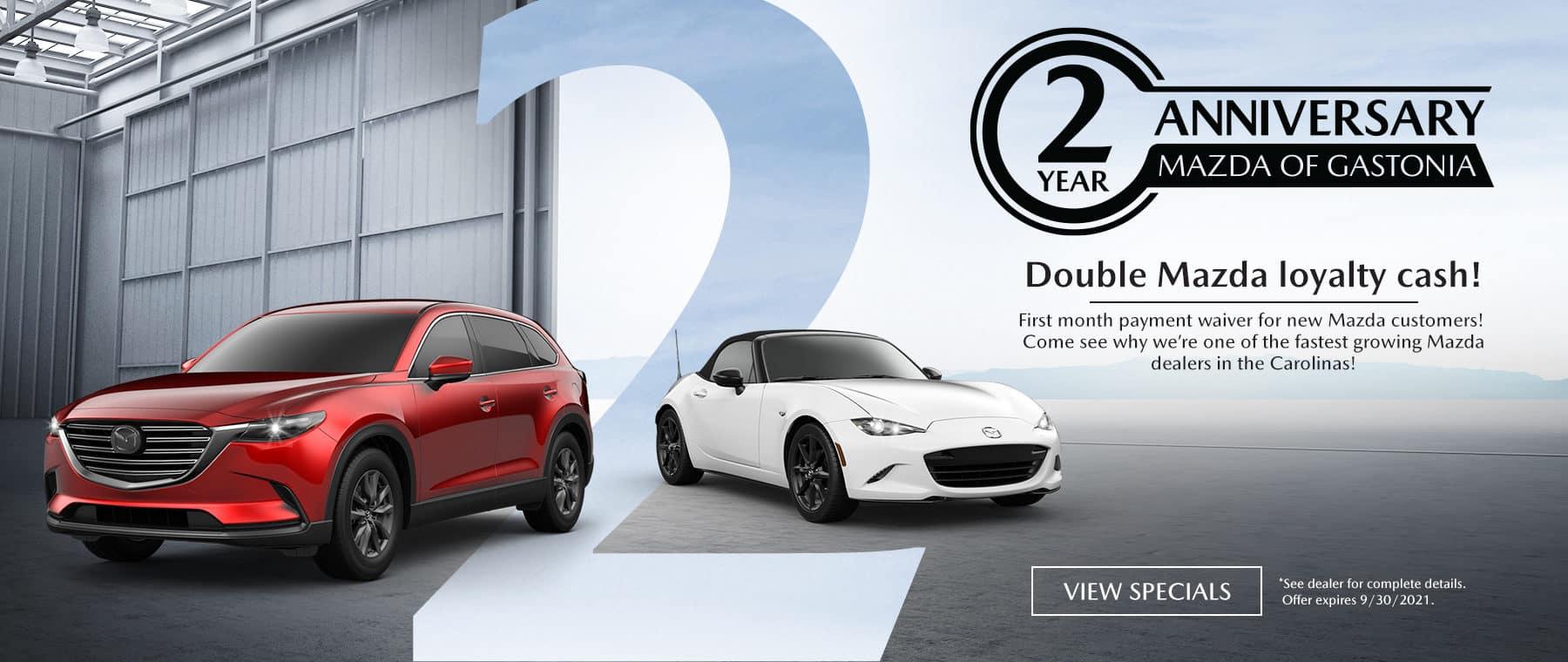 MazdaGastonia_SeptemberBranding-Slide_1800x760_09-21_Anniversary_FINAL