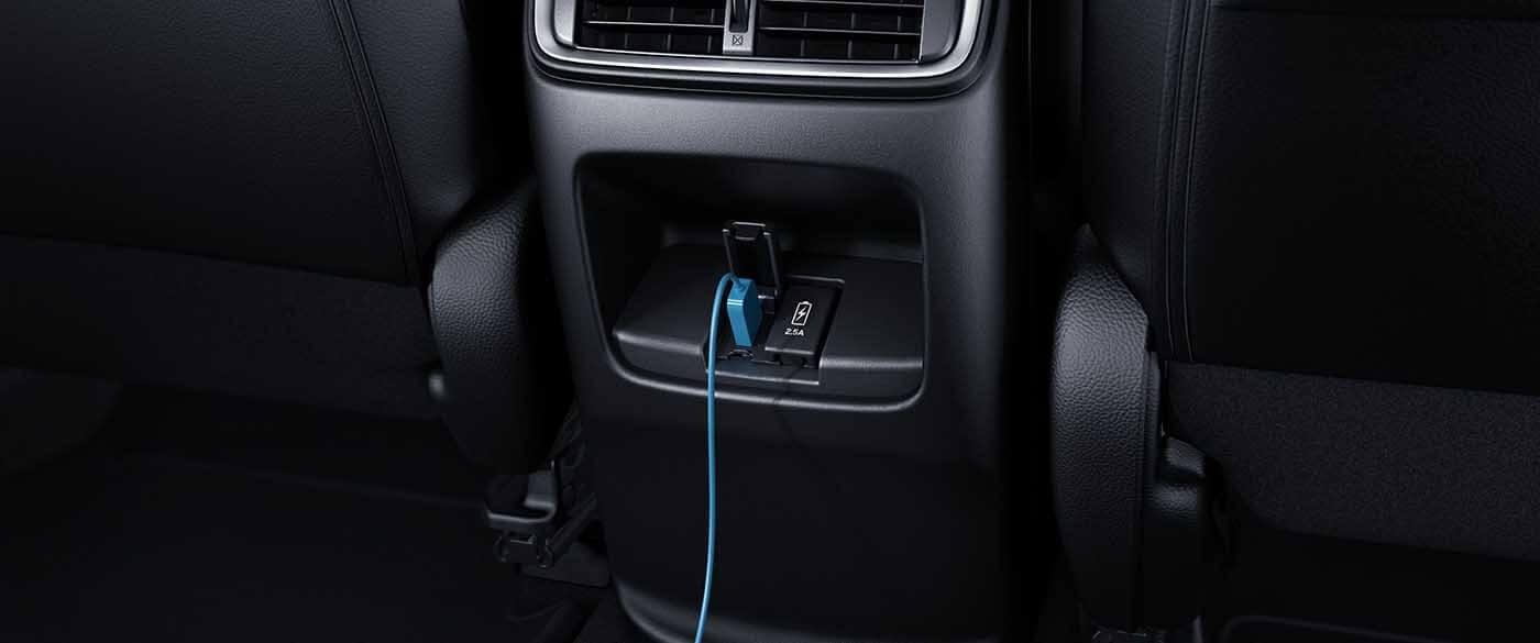 2017 Honda CR-V USB port