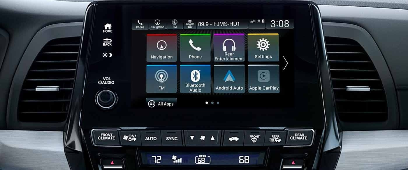 Honda Odyssey Audio Touchscreen