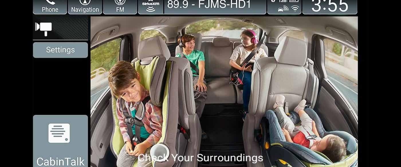 Honda Odyssey Cabin Watch