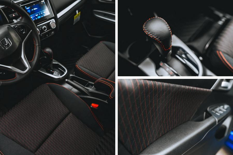 2018 Honda Fit Sport Interior Collage