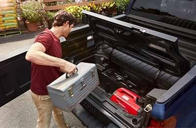 Honda Ridgeline Bed Trunk