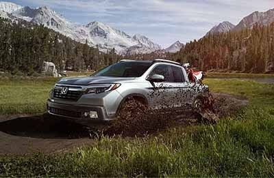 Honda Ridgeline Off-Roading