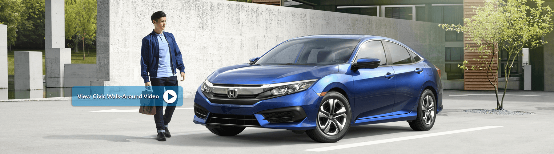 2018 Honda Civic Sedan Banner