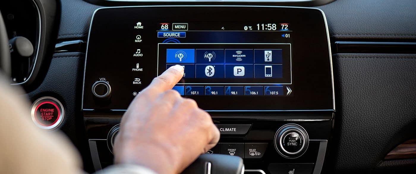 Honda CR-V Audio Options