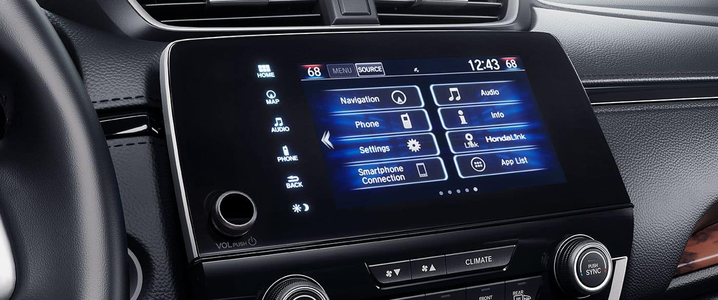 Honda CR-V Touch Display Screen