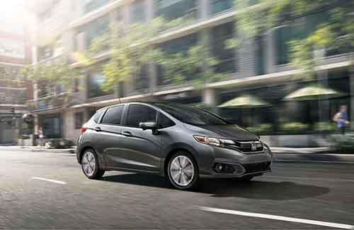 Honda Fit Driving