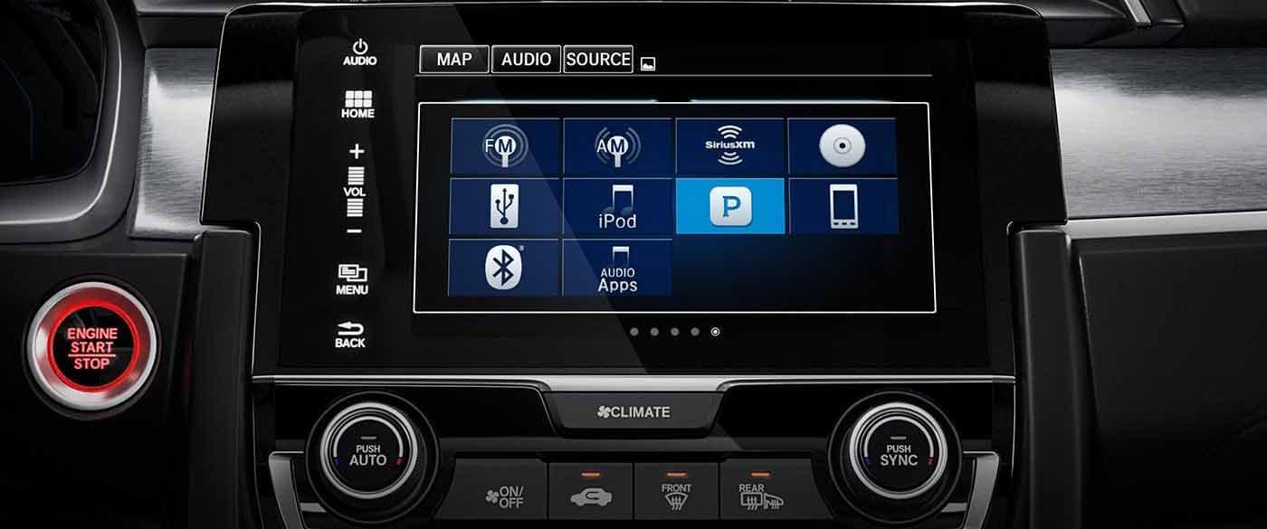 2018 Honda Civic Sedan Audio System