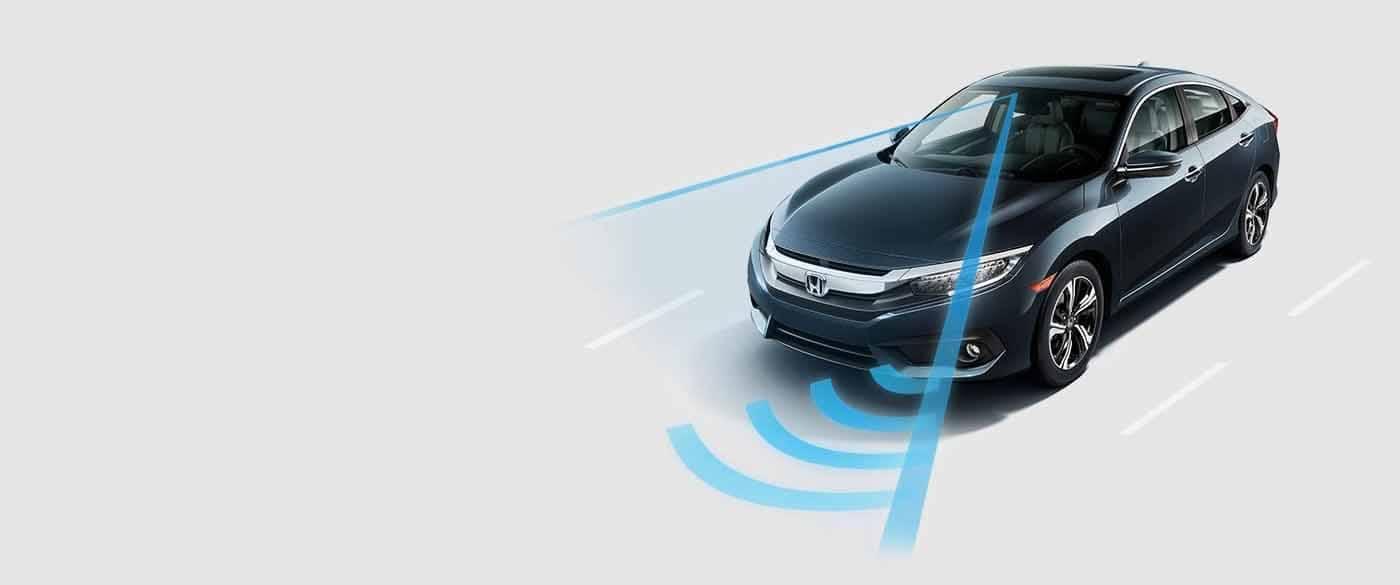 2018 Honda Civic Sedan Honda Sensing